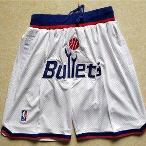 NEW Just Don Washington Wizards Basketball Shorts